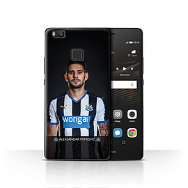Newcastle United FC Case/Cover for Huawei P9 Lite/Mitrovic Design/NUFC Football Player 15/16 Mobile phones