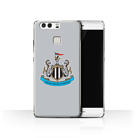 Official Newcastle United FC Case/Cover for Huawei P9/Colour/Grey Design/NUFC Football Crest Mobile phones