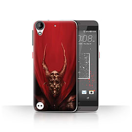 Official Chris Cold Case/Cover for HTC Desire 530 / Red Duke Design / Dark Art Demon Collection Mobile phones