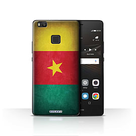 STUFF4 Case/Cover for Huawei P9 Lite / Cameroon/Cameroonian Design / Flags Collection Mobile phones