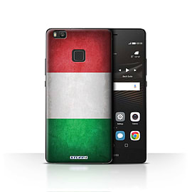 STUFF4 Case/Cover for Huawei P9 Lite / Italy/Italian Design / Flags Collection Mobile phones