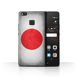 STUFF4 Case/Cover for Huawei P9 Lite / Japan/Japanese Design / Flags Collection Mobile phones