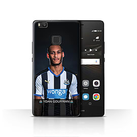 Newcastle United FC Case/Cover for Huawei P9 Lite/Gouffran Design/NUFC Football Player 15/16 Mobile phones