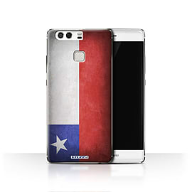 STUFF4 Case/Cover for Huawei P9 / Chile/Chiliean Design / Flags Collection Mobile phones