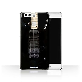 STUFF4 Case/Cover for Huawei P9 / Black Electirc Design / Guitar Collection Mobile phones