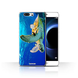 STUFF4 Case/Cover for Huawei Honor V8 / Turtle Design / Wildlife Animals Collection Mobile phones
