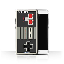 STUFF4 Case/Cover for Huawei P9 / Nintendo Classic Design / Games Console Collection Mobile phones