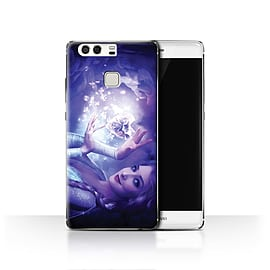 Official Elena Dudina Case/Cover for Huawei P9/Frozen Heart Design/Fairy Tale Character Mobile phones
