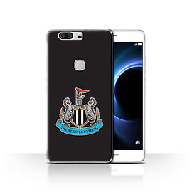 Official Newcastle United FC Case/Cover for Huawei Honor V8/Colour/Black Design/NUFC Football Crest Mobile phones