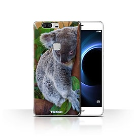 STUFF4 Case/Cover for Huawei Honor V8 / Koala Bear Design / Wildlife Animals Collection Mobile phones