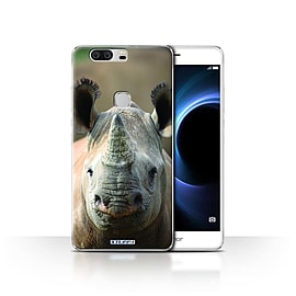 STUFF4 Case/Cover for Huawei Honor V8 / Rhino Design / Wildlife Animals Collection Mobile phones