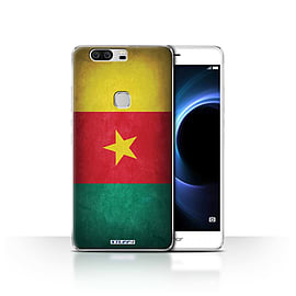 STUFF4 Case/Cover for Huawei Honor V8 / Cameroon/Cameroonian Design / Flags Collection Mobile phones