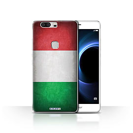 STUFF4 Case/Cover for Huawei Honor V8 / Italy/Italian Design / Flags Collection Mobile phones