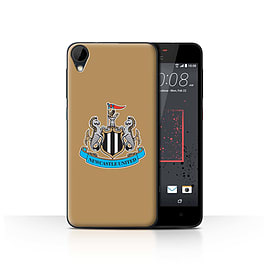 Official Newcastle United FC Case/Cover for HTC Desire 825/Colour/Gold Design/NUFC Football Crest Mobile phones