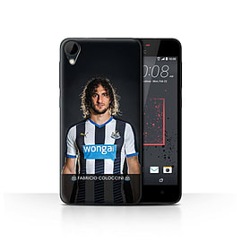 Newcastle United FC Case/Cover for HTC Desire 825/Coloccini Design/NUFC Football Player 15/16 Mobile phones