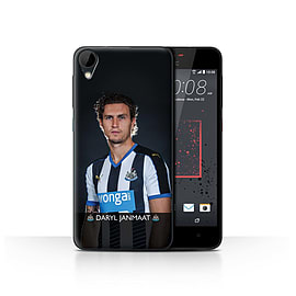 Official Newcastle United FC Case/Cover for HTC Desire 825/Janmaat Design/NUFC Football Player 15/16 Mobile phones