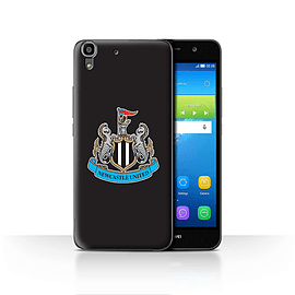 Official Newcastle United FC Case/Cover for Huawei Y6/Colour/Black Design/NUFC Football Crest Mobile phones