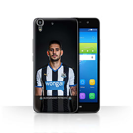 Official Newcastle United FC Case/Cover for Huawei Y6/Mitrovic Design/NUFC Football Player 15/16 Mobile phones