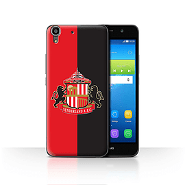 Official Sunderland AFC Case/Cover for Huawei Y6/Red/Black Design/SAFC Football Club Crest Mobile phones