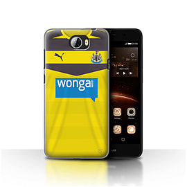 Newcastle United FC Case/Cover for Huawei Y5II/Y5 2/Goalkeeper Design/NUFC Home Shirt/Kit 15/16 Mobile phones