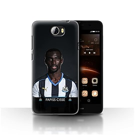 Official Newcastle United FC Case/Cover for Huawei Y5II/Y5 2/Ciss? Design/NUFC Football Player 15/16 Mobile phones