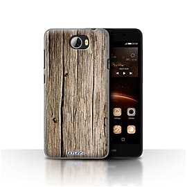 STUFF4 Case/Cover for Huawei Y5II/Y5 2 / Driftwood Design / Wood Grain Effect/Pattern Collection Mobile phones