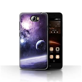 Official Chris Cold Case/Cover for Huawei Y5II/Y5 2/Planet/Moon Design/Alien World Cosmos Mobile phones
