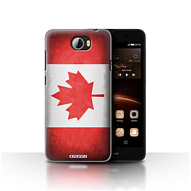 STUFF4 Case/Cover for Huawei Y5II/Y5 2 / Canada/Canadian Design / Flags Collection Mobile phones