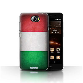 STUFF4 Case/Cover for Huawei Y5II/Y5 2 / Italy/Italian Design / Flags Collection Mobile phones