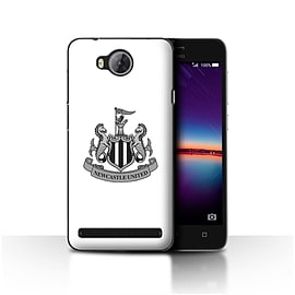 Official Newcastle United FC Case/Cover for Huawei Y3II/Y3 2/Mono/White Design/NUFC Football Crest Mobile phones