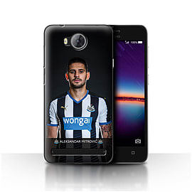 Newcastle United FC Case/Cover for Huawei Y3II/Y3 2/Mitrovic Design/NUFC Football Player 15/16 Mobile phones