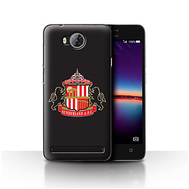 Official Sunderland AFC Case/Cover for Huawei Y3II/Y3 2/Black Design/SAFC Football Club Crest Mobile phones