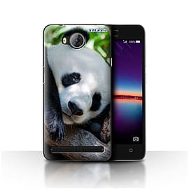STUFF4 Case/Cover for Huawei Y3II/Y3 2 / Panda Bear Design / Wildlife Animals Collection Mobile phones