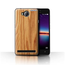 STUFF4 Case/Cover for Huawei Y3II/Y3 2 / Oak Design / Wood Grain Effect/Pattern Collection Mobile phones