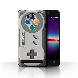 STUFF4 Case/Cover for Huawei Y3II/Y3 2 / Super Nintendo Design / Games Console Collection Mobile phones