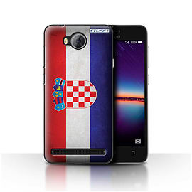 STUFF4 Case/Cover for Huawei Y3II/Y3 2 / Croatia/Croatian Design / Flags Collection Mobile phones