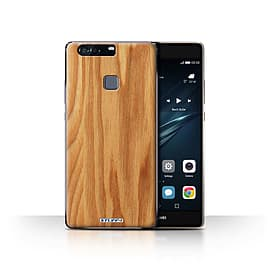 STUFF4 Case/Cover for Huawei P9 Plus / Oak Design / Wood Grain Effect/Pattern Collection Mobile phones