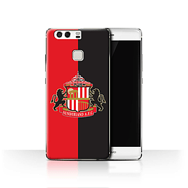 Official Sunderland AFC Case/Cover for Huawei P9/Red/Black Design/SAFC Football Club Crest Mobile phones