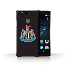 Official Newcastle United FC Case/Cover for Huawei P9 Plus/Colour/Black Design/NUFC Football Crest Mobile phones