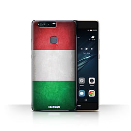 STUFF4 Case/Cover for Huawei P9 Plus / Italy/Italian Design / Flags Collection Mobile phones