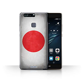 STUFF4 Case/Cover for Huawei P9 Plus / Japan/Japanese Design / Flags Collection Mobile phones