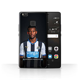 Newcastle United FC Case/Cover for Huawei P9 Lite/Wijnaldum Design/NUFC Football Player 15/16 Mobile phones