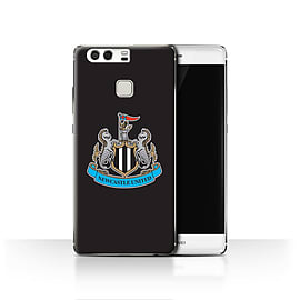 Official Newcastle United FC Case/Cover for Huawei P9/Colour/Black Design/NUFC Football Crest Mobile phones