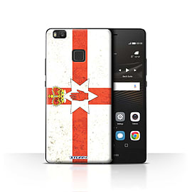 STUFF4 Case/Cover for Huawei P9 Lite / Northern Ireland Design / Flags Collection Mobile phones