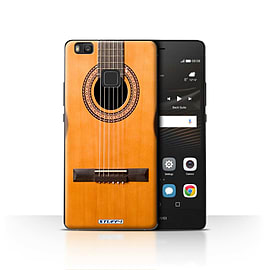 STUFF4 Case/Cover for Huawei P9 Lite / Wood/Wooden Acoustic Design / Guitar Collection Mobile phones