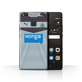 Newcastle United FC Case/Cover for Huawei P9 Lite/Goalkeeper Design/NUFC Away Shirt/Kit 15/16 Mobile phones