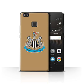 Official Newcastle United FC Case/Cover for Huawei P9 Lite/Colour/Gold Design/NUFC Football Crest Mobile phones
