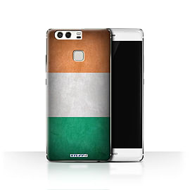 STUFF4 Case/Cover for Huawei P9 / Ireland/Irish Design / Flags Collection Mobile phones