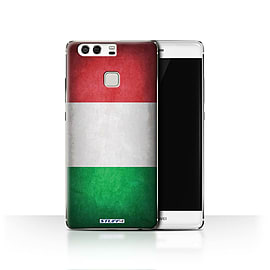 STUFF4 Case/Cover for Huawei P9 / Italy/Italian Design / Flags Collection Mobile phones