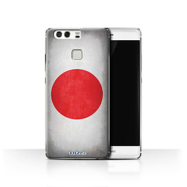 STUFF4 Case/Cover for Huawei P9 / Japan/Japanese Design / Flags Collection Mobile phones